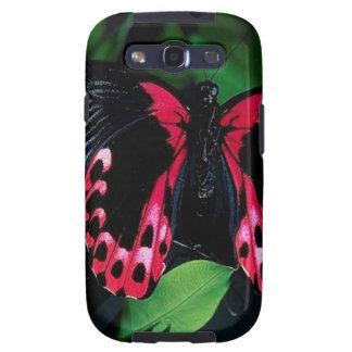 Mariposa elegante animal abstracta galaxy s3 protector