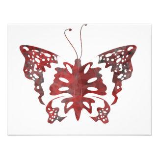 Mariposa extraña anuncio