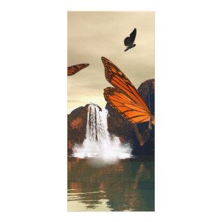 Mariposa hermosa invitaciones personalizada