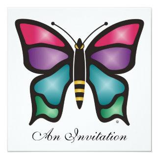 Mariposa Invitación Personalizada