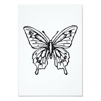 Mariposa Invitaciones Personalizada