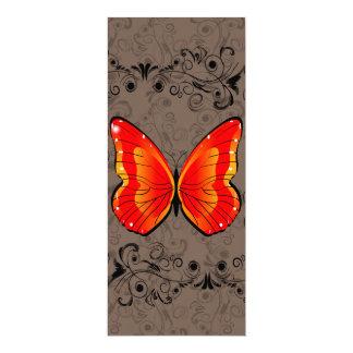 Mariposa Invitación 10,1 X 23,5 Cm