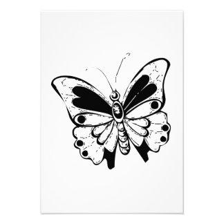 Mariposa Invitacion Personal