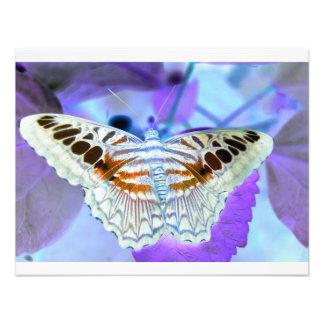 Mariposa Invitacion Personalizada