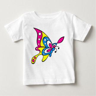 mariposa linda camiseta de bebé