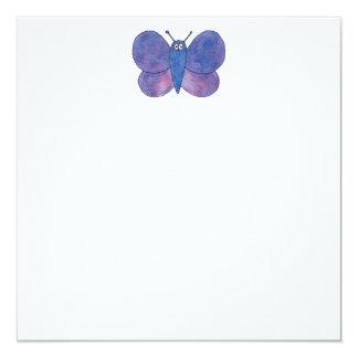 Mariposa linda invitaciones personalizada