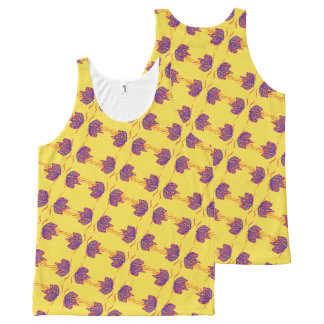 Mariposa Mabelle Camiseta De Tirantes Con Estampado Integral