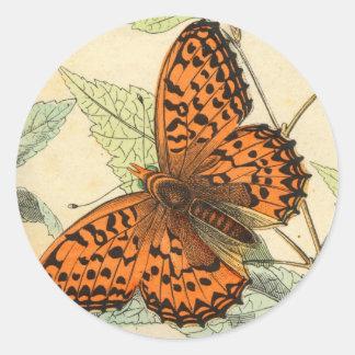 Mariposa Etiquetas