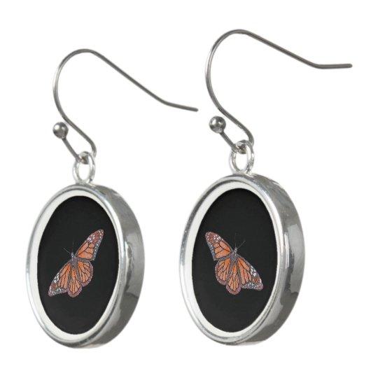 Mariposa Pendientes