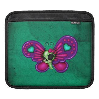 Mariposa retra del zombi de la diversión funda para iPad