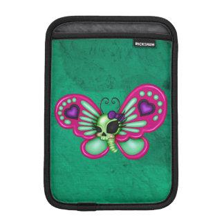 Mariposa retra del zombi de la diversión funda para iPad mini