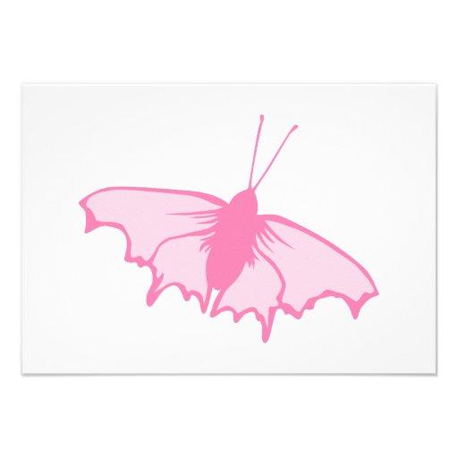 Mariposa rosada comunicados personales