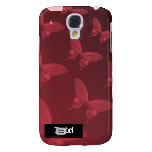 Mariposa rosada iPhone3G de la madreselva