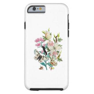 Mariposas del verano funda de iPhone 6 tough