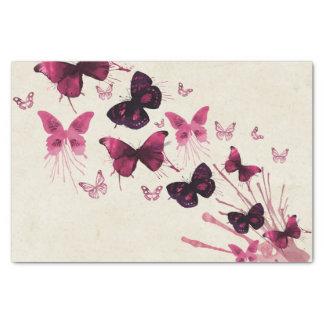 Mariposas en acuarela papel de seda
