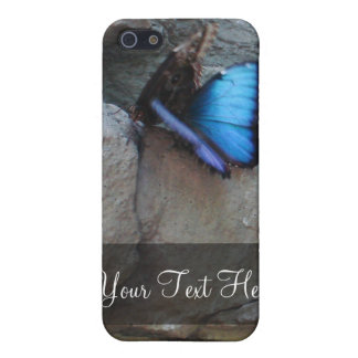 Mariposas en el caso del iPhone 4 de la roca iPhone 5 Coberturas
