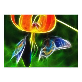 Mariposas Invitación 12,7 X 17,8 Cm