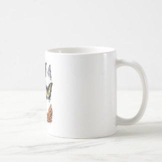 Mariposas no regalo de la decoración de 14 hogares tazas de café