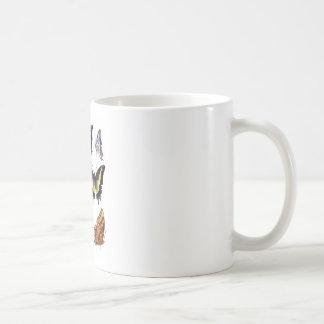 Mariposas no regalo de la decoración de 14 hogares taza clásica