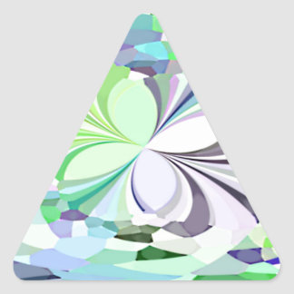 Mariposas reconstruidas colcomanias trianguladas personalizadas