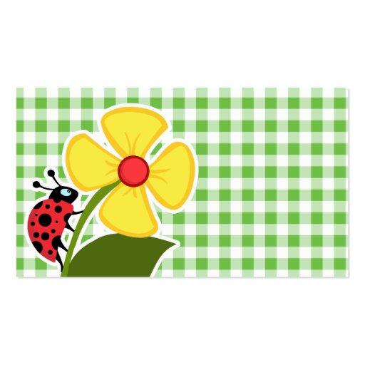 Mariquita; A cuadros verde; Guinga Tarjetas Personales