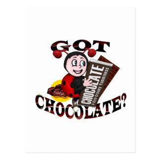 """Mariquita de Chocoholic - """"consiguió el Postal"""