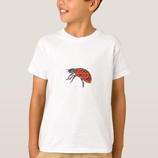 Mariquita de la gema camiseta