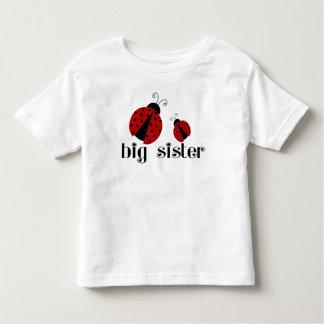 Mariquita de la hermana grande camiseta de bebé