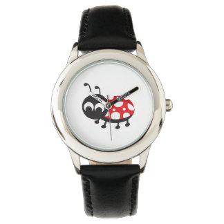 Mariquita linda reloj