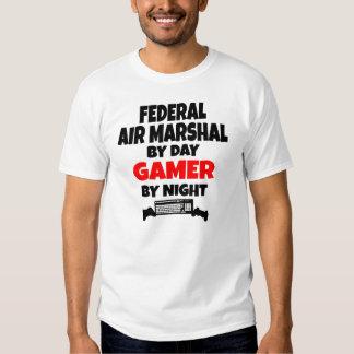 Mariscal de aire federal del videojugador camiseta
