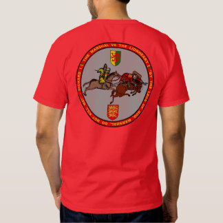 Mariscal de Guillermo contra Richard el sello de Camiseta