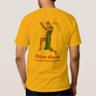 Mariscal de Guillermo - la camisa más grande del