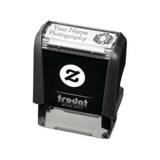 Márketing de negocio de la fotografía del Doodle Sello Automático
