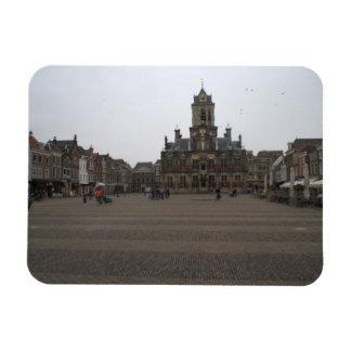 Markt, Delft Imán