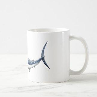 Marlin azul-redbubble taza de café
