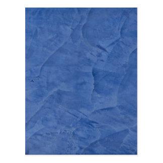 Mármol azul postal