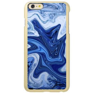 Mármol blanco azul de la aguamarina de los