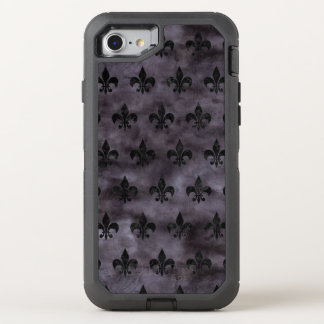 MÁRMOL NEGRO ROYAL1 Y ACUARELA NEGRA FUNDA OtterBox DEFENDER PARA iPhone 8/7
