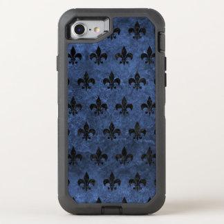MÁRMOL NEGRO ROYAL1 Y PIEDRA AZUL FUNDA OtterBox DEFENDER PARA iPhone 8/7