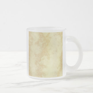 Mármol o granito texturizado taza cristal mate