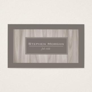 mármol texturizado madera ligera tarjeta de negocios