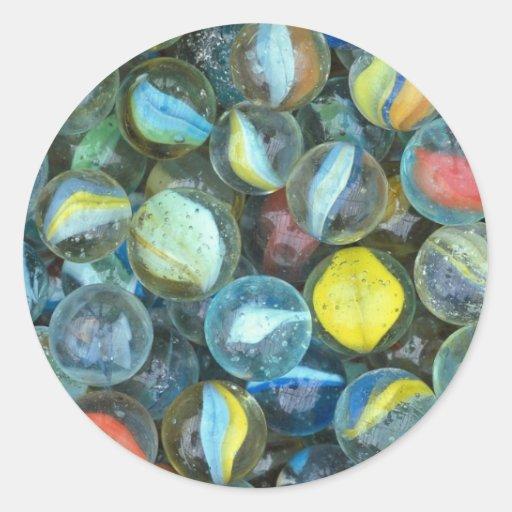 mármoles Bien-usados Pegatina