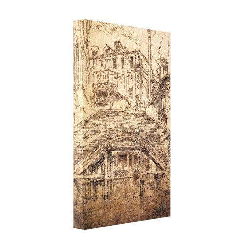 Marmota de James Abbott McNeill - Ponte del Piovan Lona Estirada Galerias