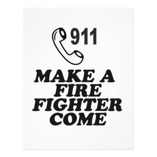 MARQUE EL FUEGO 911 FOLLETO 21,6 X 28 CM