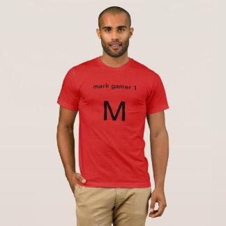 marque el videojugador 1 camiseta