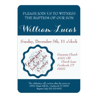 Marque la invitación del bautismo