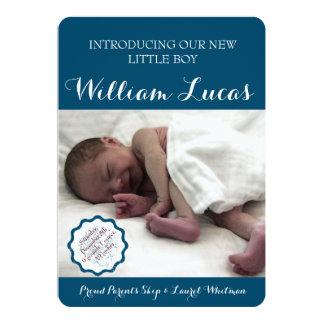 Marque la invitación del nacimiento del bebé