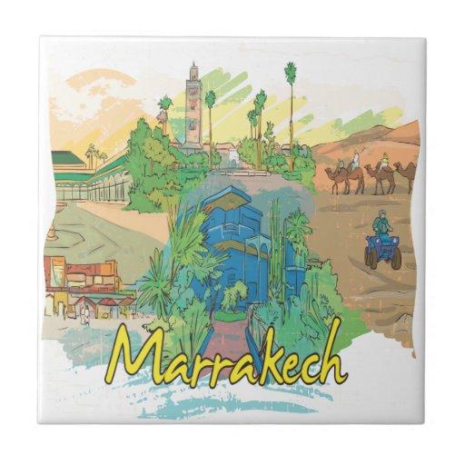 Marrakesh Tejas Ceramicas