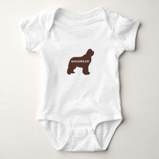 marrón conocido del silo del newfie body para bebé