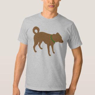 Marrón del BASTÓN Camisetas